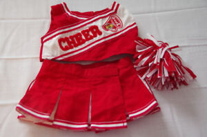 Build a Bear      Cheer Leading Outfit