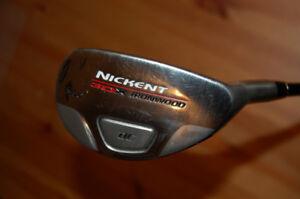 Golf Hybride-3, droitier, Nickent Ironwood