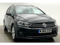 Volkswagen Golf SV GT 2.0 TDI AUTO DSG 150ps 2014 (64) with Leather : 23k mi