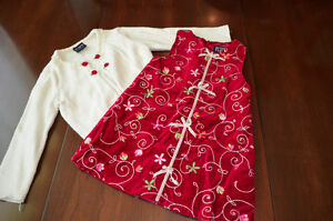 Christmas dress and sweater Children's Place