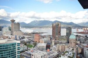 DowntownVancouver 2Beds/Ocean View/1 parking /Citadel&W Georgia