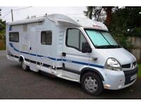 2007 4-bert Dethleffs Esprit RT6844 motorhome SOLD, SIMILAR REQUIRED