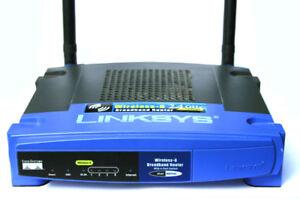 Router / routeur Linksys WRT54GS