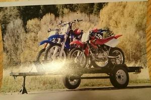 Motorcycle / Dirt Bike Trailer