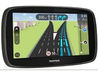 SAT NAV GPS TOM-TOM GO 5100 UK AND EUROPE NEARLY LIKE NEW FOR SALE