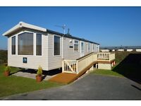 Caravan for hire at Perran sands Cornwall 6 berth 13-20 August