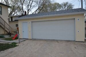 Garage for rent in St. Boniface