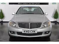 2010 MERCEDES C-CLASS C180 CGI BLUEEFFICIENCY SE SALOON PETROL