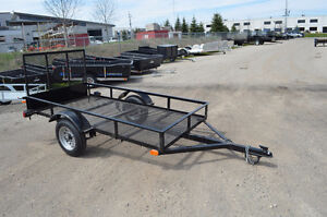 4.5X8 Mesh Utility Trailer, Perfect for ATV, Household Goods Ect