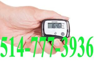 Pedometer Digital LCD Walking Hiking Step Calorie Counter