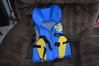 Child's life vest for 30-60 lbs in Riverbend $25