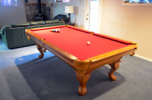 Cambridge 4x8 Pool Table  Like New