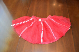 Gymboree skirt Canadian flags