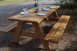 Handmade Benchs & Picnic Tables