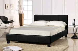 Pu leather bed Frames _Brand New
