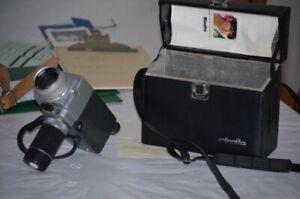 Caméra Minolta ,Concord ,filmeuse,  2 tripieds neuf