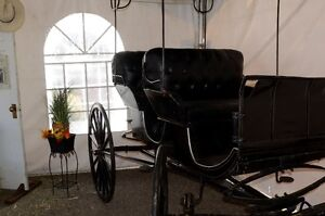 Antique Aimish Horse Surrey Carriage Buggy 100years old For Sale Prince George British Columbia image 4