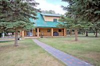 REDUCED!!!!! REDUCED!!!!!! LOG HOME