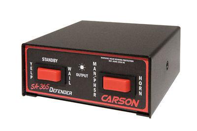 Carson Sa-365 Defender 100 Watt Siren Amplifier Switch Control Whelen Fed Sig