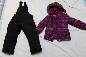 Size XS Coat and Size 6 snow pants