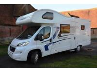 2016 Swift Escape 696 6-berth motorhome with rear bunk beds SOLD