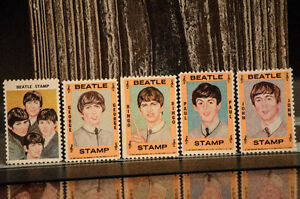 Timbres 1964 The Beatles.... Vintage
