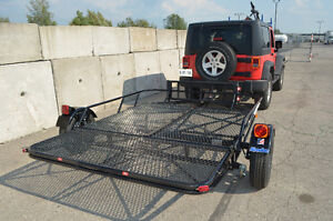 Kendon Stand Up Double ATV trailer, Stores upright in 8`X2` Kitchener / Waterloo Kitchener Area image 1