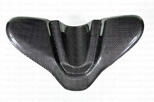DUCATI 848 1098 1198 CARBON FIBER TANK KEY IGNITION PROTECTOR GUARD COVER
