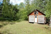 76 Acres Mature Trees Camp/Cabin 2 sheds Round Lake Ontario