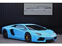 2014 Model Lamborghini Aventador 6.5 V12 *Factory Carbon Exterior + Interior *
