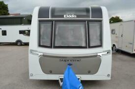 2019 Elddis Supreme 554 - 4 Berth - End Washroom & Transverse Island Bed, ATC