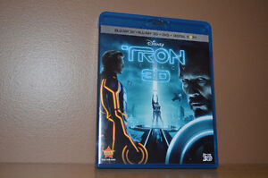 Tron Legacy Blu-ray - 3D - DVD and Digital Copy