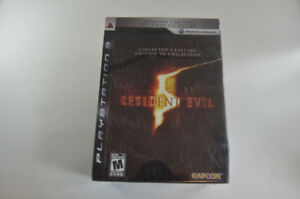 Resident Evil 5 Collector's Edition Playstation 3 PS3 BRAND NEW