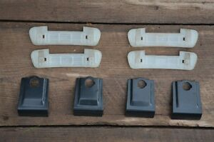 New unused Yakima Q95 clips set and Q-Tower rubber base mount pa