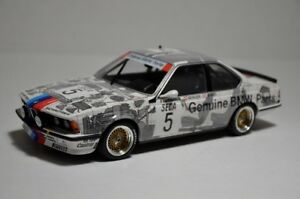 MINICHAMPS 1/18 1985 BMW 635 CSI WINNER 24TH SPA RAVAGLIA 85