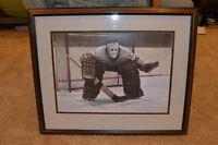 Classic Goalie Framed Print