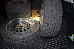 Winter Tires on Rims Toyo Observe GERIT KX Kitchener / Waterloo Kitchener Area image 1