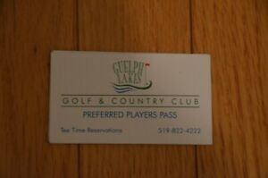 golf and country club preferred players pass