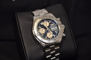 Breitling Super Ocean Chrono with all Boxes and Papers