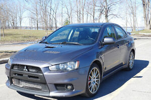 2008 Mitsubishi Evolution GSR Sedan