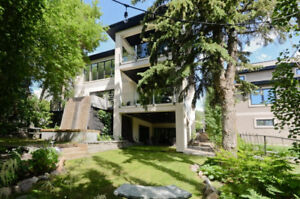 ULTRA MODERN SOLID CONCRETE WESTMOUNT HOME IN PRIVATE SETTING