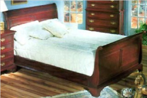 Gibbard Canadian Legacy Mahogany Sleigh Bed King/Queen