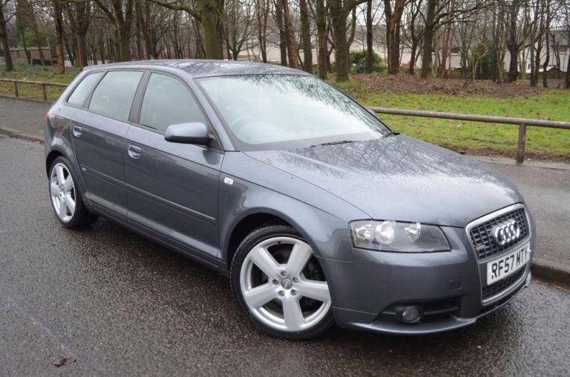2007 audi a3 2 0 tdi s line sportback quattro 5dr in. Black Bedroom Furniture Sets. Home Design Ideas