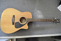 Yamaha FGX-413SC Acoustic Electric guitar w/ case