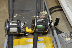 DOWNRIGGER POLES & REELS Kitchener / Waterloo Kitchener Area image 4