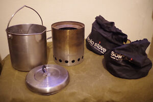 Solo Stove Titan & SoloPot 1800 Combo, Stainless Steel