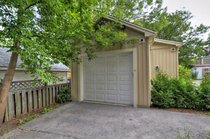 Brand New Garage + 2 Outdoor Parking Spots! Central Location!