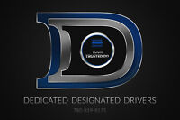 Dedicated Designated Drivers Inc. NOW HIRING