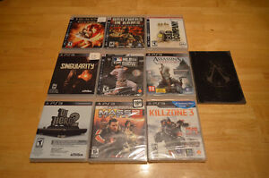 Various PS3 games for sale!