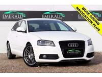 2010 10 AUDI A3 2.0 SPORTBACK TDI S LINE SPECIAL EDITION 5D 138 BHP DIESEL